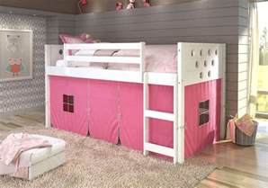 Toy Box With Bookcase Twin Circles Low Loft Bunk Bed For Girls With Tent