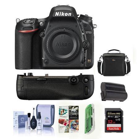 nikon d750 dslr body only camera includes nikon mb d16