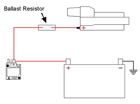 ballast resistor hook up 28 images where is the tach wire to hook up a hei distributor s 10