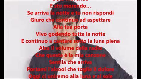 and testo italiano enrique iglesias subeme la radio traduzione testo in