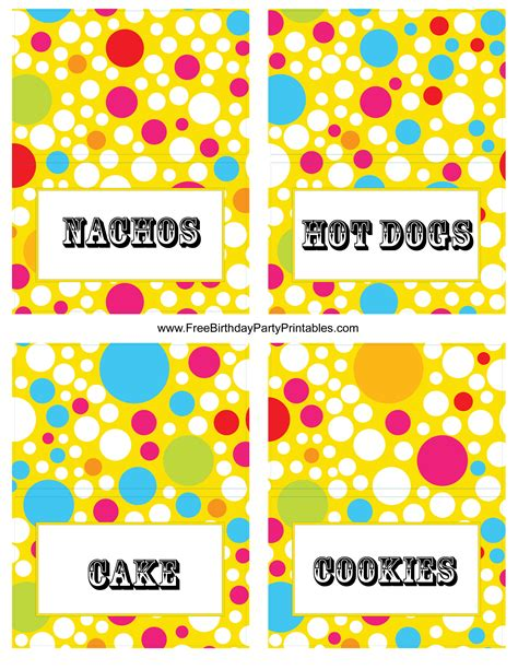 birthday card templates for google docs http www freebirthdaypartyprintables com circus birthday