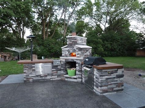 Backyard Brick Oven by