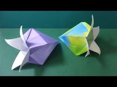 Bell Flower Origami - 花の折り紙 ベルフラワー 折り方 quot bell flower quot flower origami