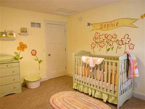 pink and green baby room pastel baby girl nursery hgtv