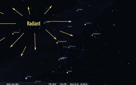 orionids meteor shower october 2012 hawaii viewing tips