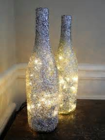 Diy lamp from wine bottles creative decorating ideas interior