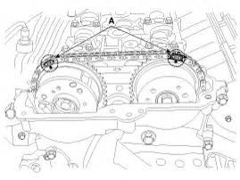 kia sorento valve clearance inspection and adjustment