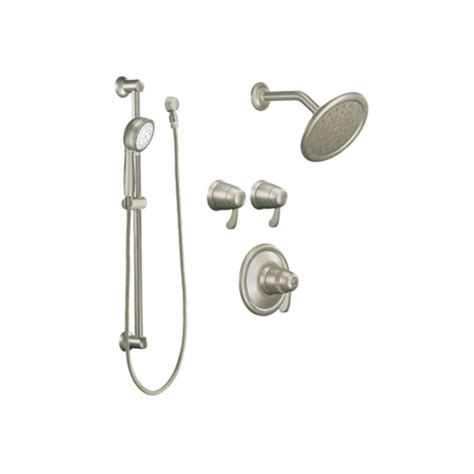 Moen Faucet Shower by Faucet Ts270bn In Brushed Nickel By Moen