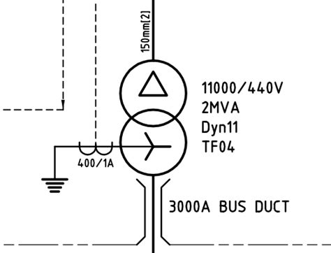schematics what does this symbol indicate line with