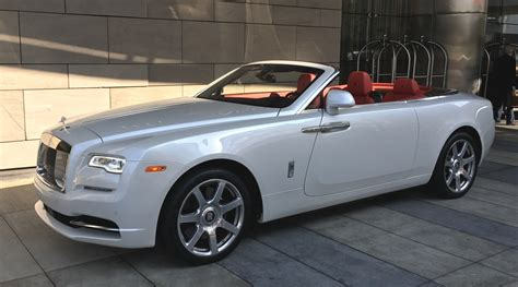 rolls royce white convertible rolls royce dawn pearl white red convertible exotic