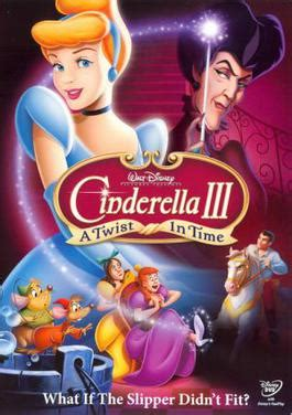 cinderella film tv tropes cinderella iii a twist in time wikipedia