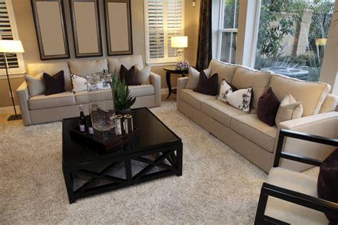 dark brown living room