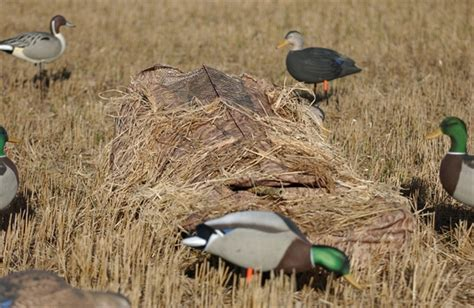 layout blind winter wheat cover prairiewind decoys power hunter ghillie blind cover by