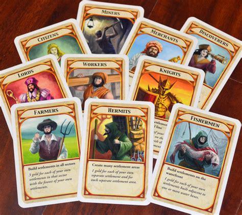 board game layout design kingdombuilder board game cards games pinterest game