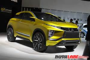 Who Make Mitsubishi Honda Br V Rival Mitsubishi Xm Concept Makes Entry