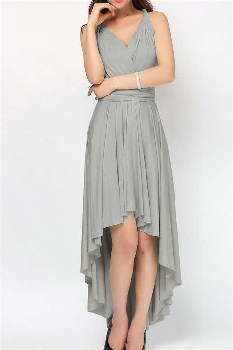 Dress I grey high low infinity dress convertible dress bridesmaid
