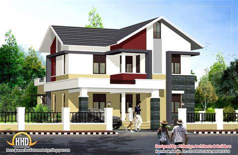style house contemporary style home 1956 sq ft kerala home design and floor plans