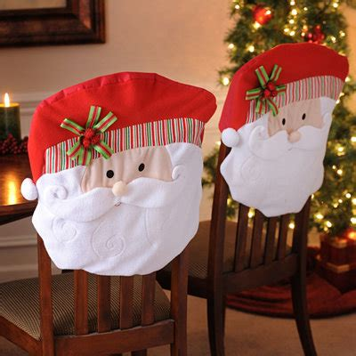 santa chair covers set of 2