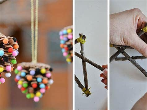decorazione bambini decorazioni naturali per l albero di natale da fare con i
