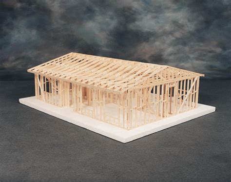 house models to build truss roof 156 00 cat 83 541041c this 3 4 quot scale kit