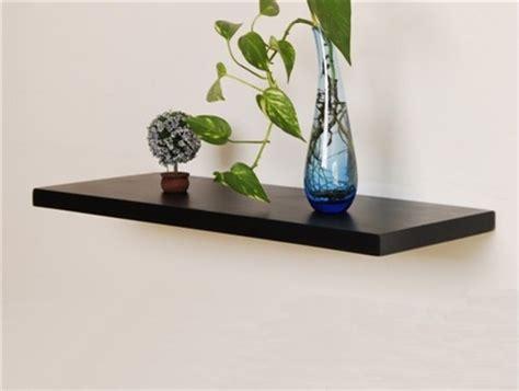 aspen floating shelf bracketless shelves modern