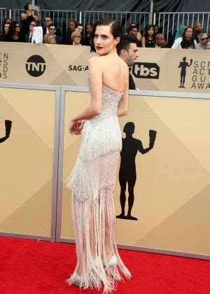 Screen Actors Guild Awards Williams by Allison Williams 2018 Screen Actors Guild Awards In Los