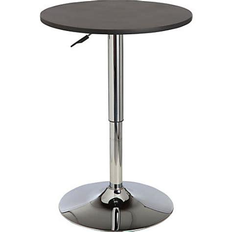 Gas Lift Bar Table Gas Lift Black Bar Dining Table