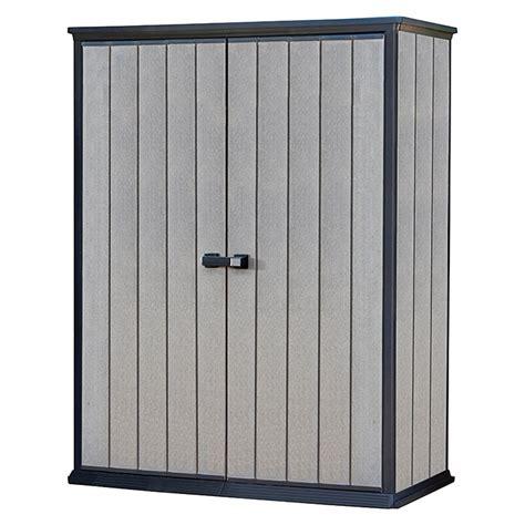 ikea gartenbox ger 228 teschrank high store 0 77 x 139 5 x 181 5 cm grau
