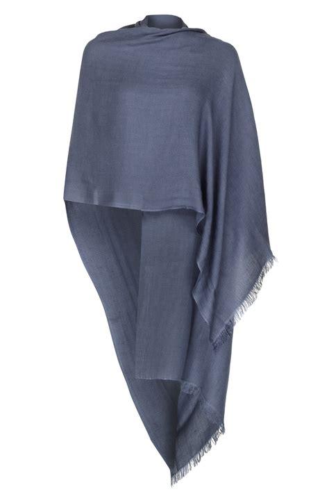 Nouri Pashmina Large Light Grey grey 50 50 silk pashmina