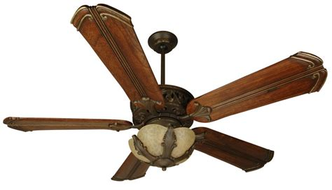 Tuscan Ceiling Fans With Lights Craftmade Fi52ag Tuscan Indoor Ceiling Fan With Light Kit And Custom Bl