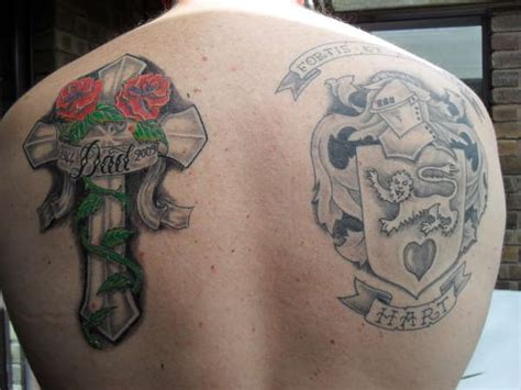 tattoo family cross family crest tattoo images designs