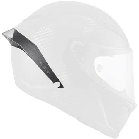 Spoiler Agv K3 Smoke helmet padding agv pista gp rear spoiler at the best price icasque co uk