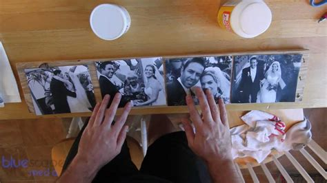 What To Put On Top Of Kitchen Cabinets diy wood photo transfers youtube