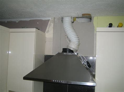 consider a fan located in a square duct cooker hood quiet powerful until duct is connected