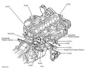 2002 jeep crank shaft sensor engine mechanical