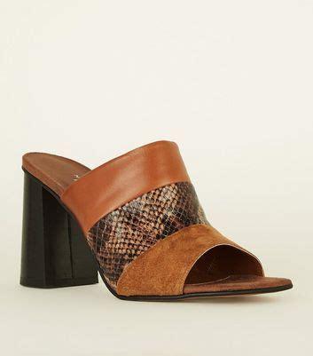 Metal Panel Mules high heel shoes high heels heels for new look