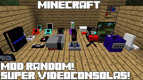 Game Mod In Minecraft | minecraft mod random super videoconsolas decorative