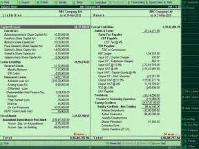 Balance Sheet Format In Tally by Tally Customization Tally Erp 9 Sales Support