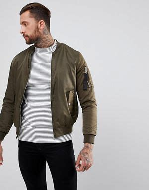Bershka Jacket Bomber s bomber jackets aviator jackets flight jackets asos