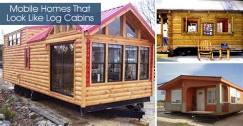 Mobile Homes That Look Like Log Cabins by Mobile Homes That Look Like Log Cabins
