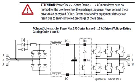 precharge resistor function rockwell automation