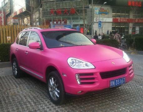 Porsche Cayenne Pink by Porsche Cayenne Is Pink In China Carnewschina