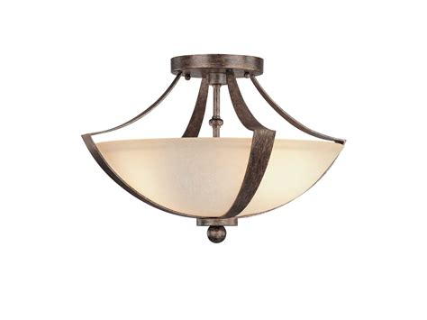 rustic semi flush mount lighting capital lighting soho rustic two light semi flush mount