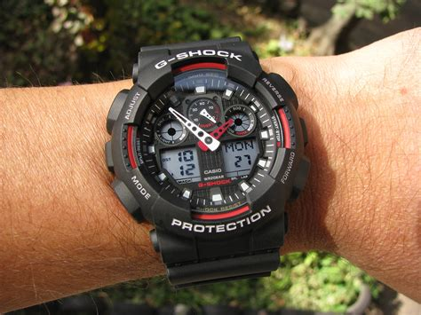 Casio G Shock Gax100 casio ga 100 1a4 g shock high quality gallery