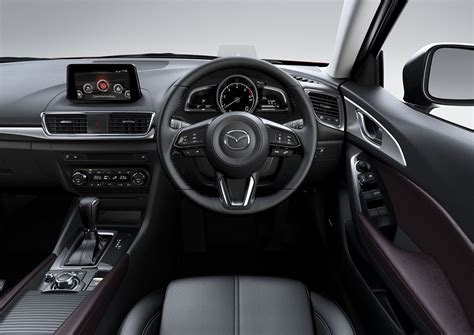 mazda interior 2016 2016 mazda 3 facelift goes official australian debut
