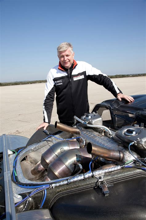 Wolfgang Hatz Porsche by Wolfgang Hatz Porsche 918 Spyder Rolling Chassis