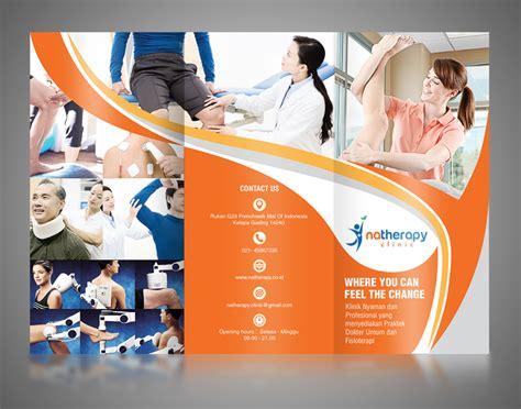 sribu desain flyerbrosur brosur desain  klinik fisi