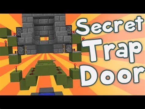 Minecraft Secret Trap Door by Secret Trap Door How To Build Minecraft Project