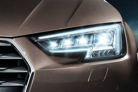audi a4 headlights audi matrix led headlight technology does it work