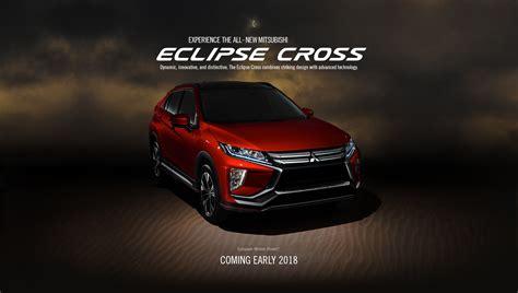 mitsubishi crossover interior experience the 2018 mitsubishi eclipse cross mitsubishi